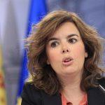 """""""Hay que cumplir s�  o s�  """"  ha dicho la vicepresidenta de Gobierno Soraya Sáenz"""