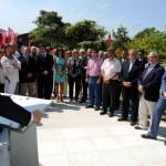 Visita del consejero de presidencia de la Xunta Alfonso Rueda a Uruguay
