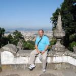 El santuario de Bom fin en Portugal (Braga)