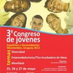 3° Congreso de jóvenes españoles y descendientes 25, 26 y 27 de mayo – ficha inscripción – Programa