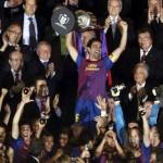 Un soberbio Barcelona despide a Guardiola con el t� tulo de Copa ante el Athletic (0-3)