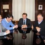 Visita del Presidente de la Diputación de La Coruña a Montevideo – jueves 7 de junio