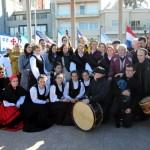 Actos de conmemoración del D� a de Galicia en Montevideo – Homenaje al gaitero Celestino Pichel