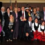 Premio Colón al Centro Valle Miñor de Montevideo, d� a de la hispanidad.