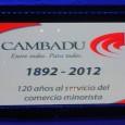 CAMBADU ha celebrado hoy 26 de octubre sus 120 años al servicio de los almaceneros minoristas y baristas de nuestro país. La fiesta a la que asistieron más de 1000 […]