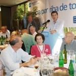 Nuñez Feijóo Celebró su triunfo electoral en Buenos Aires ante 500 simpatizantes