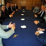 El vicepresidente de Galicia y el secretario de emigración visitan la Asociación Española