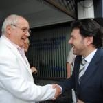 Reunión del secretario Xeral de emigración de la Xunta en Casa de Galicia con la USG.