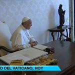 El papa Francisco recibe a Rajoy con el que charla en privado durante 24 minutos