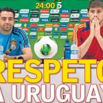 """""""partidazo"""" España-Uruguay – Como lo vieron aqu�  y allá"""