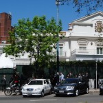 Recepción en la embajada de España con motivo de la celebración del d� a nacional 12-Oct