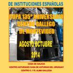XLI Olimp� adas de juegos de salón 2014 – Instituciones españolas de Uruguay-Tabla de puntajes finales