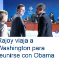 El jefe del Gobierno, Mariano Rajoy, ha llegado a Washington para mantener este lunes su primera reunión en la Casa Blanca con el presidente de Estados Unidos, Barack Obama, a […]