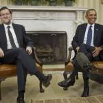 """Rajoy y Obama coinciden en que la creación de empleo es ahora el """"gran reto"""" de España"""