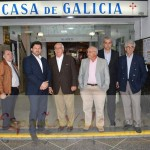 El secretario Xeral de emigración ha firmado convenios de colaboración con: Hogar español, Casa de Galicia y la Española