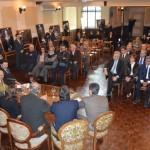 La Junta Departamental sesionó en el Centro gallego – Secretario de emigración de la Xunta de Galicia ha sido nombrado visitante ilustre de Montevideo –