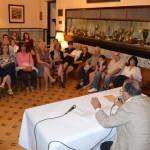 Homenaje a Alfonso Daniel Manuel Rodr� guez Castelao en el Centro gallego de Montevideo