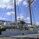 """El """"embajador flotante"""", buque escuela Juan Sebastián Elcano llegará a Uruguay el próximo martes"""