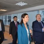 Visita la Asociación Española la presidente del parlamento gallego, Pilar Rojo.