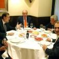 ElRey Juan Carlos I, el presidente del Gobierno,Mariano Rajoy, y los expresidentesJosé María Aznar(PP),José Luis Rodríguez Zapateroy Felipe González (PSOE) han celebrado esta noche una cena, de carácter privado,en el […]