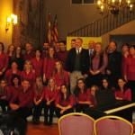 Concierto Coral Divisi en la embajada de España en Uruguay