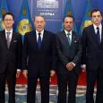 El Excelentísimo Embajador del Reino de España, Don Pedro José Sanz Serrano, recibió las cartas credenciales del Presidente de la República de Kazajstán, Nursultan Nazarbayev. Además, también recibieron esta agradecimiento […]