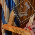 Entrega del premio Colón 2015 de la F.I.E.U. a Walter Pena –  12 de octubre
