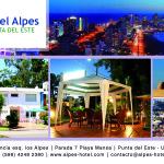 Hotel Alpes – recomendado en Punta del Este.