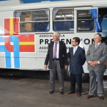 Inauguración del bus- mamógrafo portátil de la Asociación Española