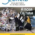 Buenos Aires celebra Galicia 23A Av. de Mayo y Bolivar
