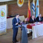 Encuentro del presidente Alberto Núñez Feijóo con el colectivo gallego de Montevideo