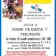 Se ha realizado la reunión de interesados en cursar clases de gaita y percusión a cargo del profesor Carlos González. Los cursos son para todas las edades y no se […]