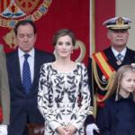 Los reyes presiden el primer desfile de la Fiesta Nacional con un Gobierno en funciones y sin jefe de la oposición