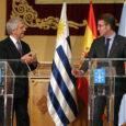 """El presidente de la Xunta, Alberto Núñez Feijóo, en presencia del presidente del Uruguay, Tabaré Vázquez, se refirió este miércoles al plan de inversiones del Uruguay como un proyecto """"ambicioso […]"""