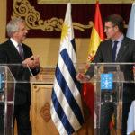 """Feijóo se refiere al plan de inversiones del Uruguay como un proyecto """"ambicioso y valiente""""."""