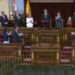"""El rey pide """"diálogo y entendimiento"""" a los parlamentarios en la apertura de la XII Legislatura"""