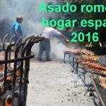 Asado Romer� a del hogar español de ancianos 2016 – Fotos y Videos
