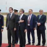 Visita a Uruguay del presidente de gobierno español Mariano Rajoy – base aérea