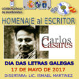 En el marco de los homenajes en el día de las letras gallegas, las instituciones Centro Gallego, Centro Bergantiños y Casa de Galicia, han realizado un acto en conjunto para […]