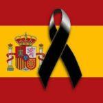 Minuto de silencio en la embajada y consulado de España en Uruguay