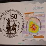 50 aniversario de la FIEU – Lanzamiento de sello de correo – Entrega de premio Colón Especial a la prensa.