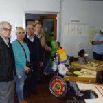 Cruzada del Dr. Caritat visita la escuela N 200 que lleva su nombre