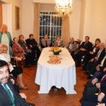Recepción en la embajada de España celebrando el d� a de la Hispanidad