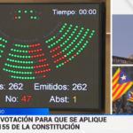 El Gobierno cesa al Govern al completo, disuelve el Parlament y convoca elecciones autonómicas el 21 de diciembre