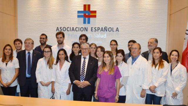 El acto se ha realizado en el anfiteatro de la institución y con la presencia del presidente de la institución Gerardo García Rial el decano de la facultad de medicina […]